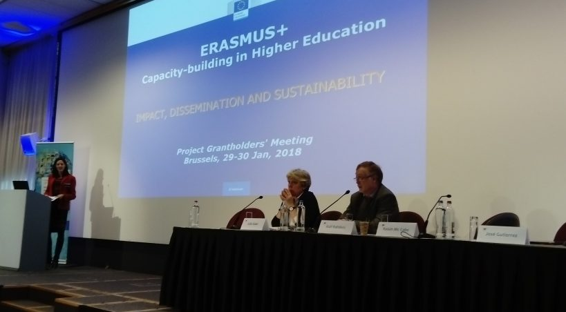 Erasmus Meeting in Brussels, the 29th and 30th January 2018.