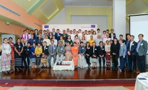 Erasmus+ Cluster Meeting Yangon 29-30 November 2017