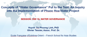 Vietnam International Water Week in Hanoi, Vietnam 4-7 March 2018.