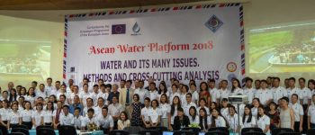 ASEAN WATER PLATFORM (AWP) 6th – 14th July 2018 (WP4, 1/3)