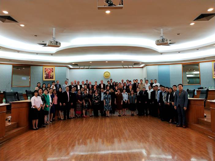 Eramus+ Cluster Meeting on Capacity-building in Higher Education, Bangkok 21 November 2018