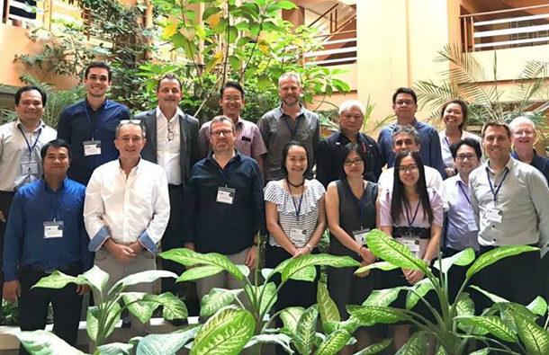 Project Management Board (PMB) meeting at 1 year, RULE Phnom Penh Cambodia, 28th November 2018 (WP1)