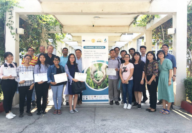 Project Design: Writing a Scientific Proposal (WP3, 2/5) Training Session at Thammasat University, Bangkok, Thailand, March 25th – 30th, 2019