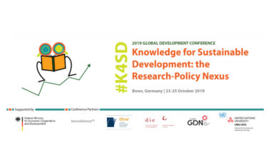 An International Youth Competition,<br>Young researchers and practitioners in development:<br>Tell us why sustainable development research matters