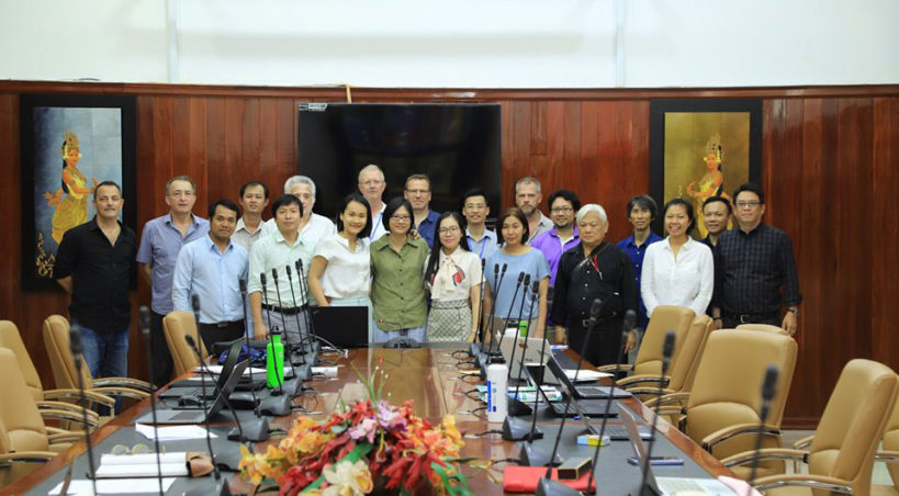 Project Management Board (PMB) meeting at 18<sup>th</sup> month, NUM, Phnom Penh Cambodia, 10<sup>th</sup> July 2019 (WP8)