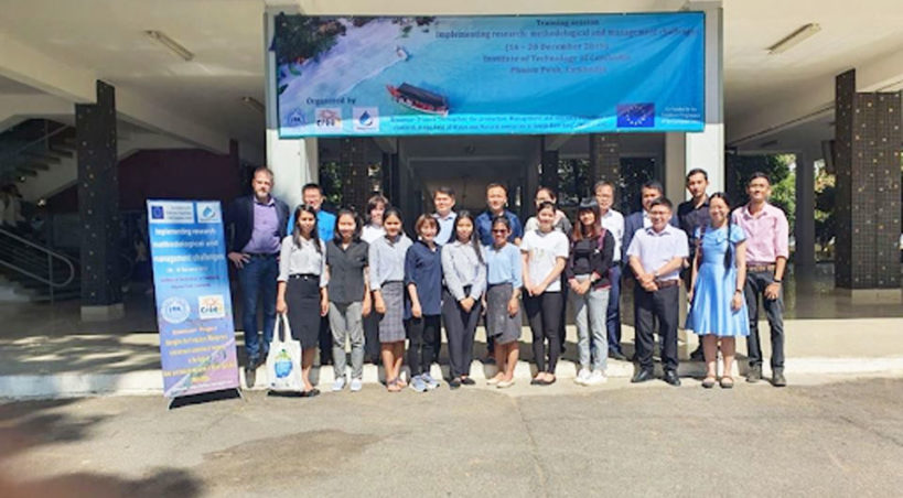 Implementing research: Methodological and management challenges (WP3/5) Training session at ITC Phnom Penh, Cambodia, December 16<sup>th</sup>-20<sup>th</sup>, 2019