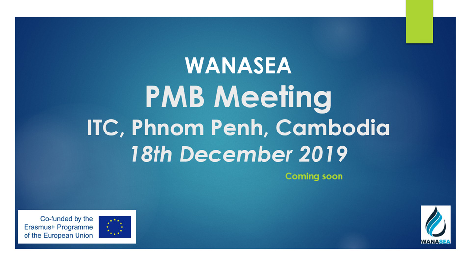 Project Management Board Meeting at 24th month, 18th Dec 2019, ITC, Phnom Penh, Cambodia (WP8)