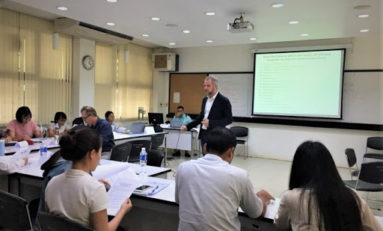 Producing knowledge: writing a research paper, Training session at Thammasat University, Bangkok, 7<sup>th</sup>-12<sup>th</sup> September 2020